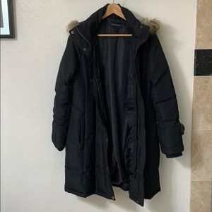 Banana Republic - Hooded Long Puffer Jacket
